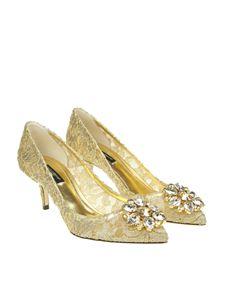 Dolce & Gabbana - Taormina lace pumps