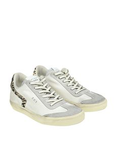 Leather Crown - Fabric sneakers